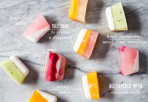 Ice Cube Smoothies