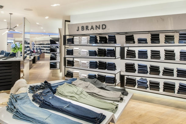 Selfridges denim studio J Brand jeans collection