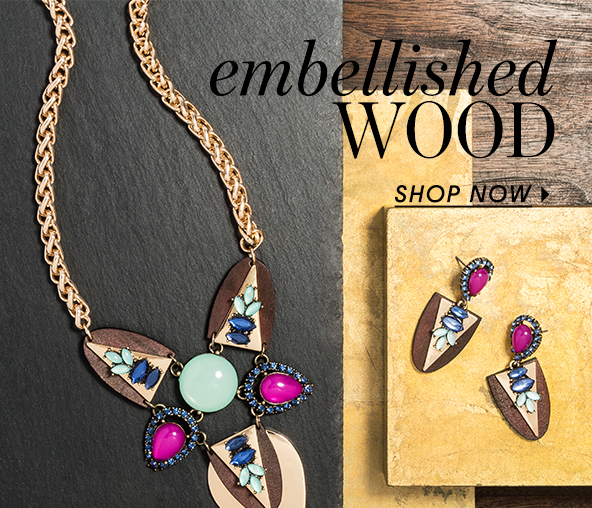 BaubleBar Embellished Wood Collection