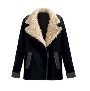Big Teddy Fur Collar Jacket
