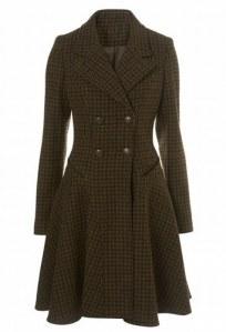Wool Corset Coat