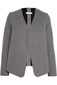 Neoprene-Effect Wool-Blend Jacket by J.W. Anderson