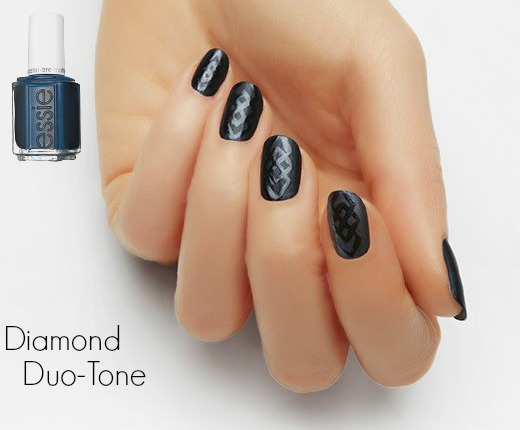 Nail Art - Diamond Duo Tone