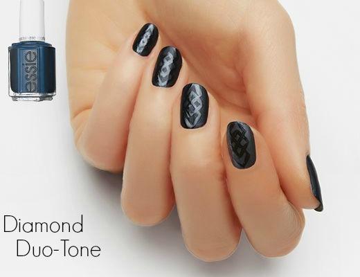 Nail Art - Diamond Duo Tone