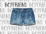 GARAGE - boyfriend shorts