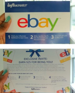 influenster campus voxbox review eBay gift card