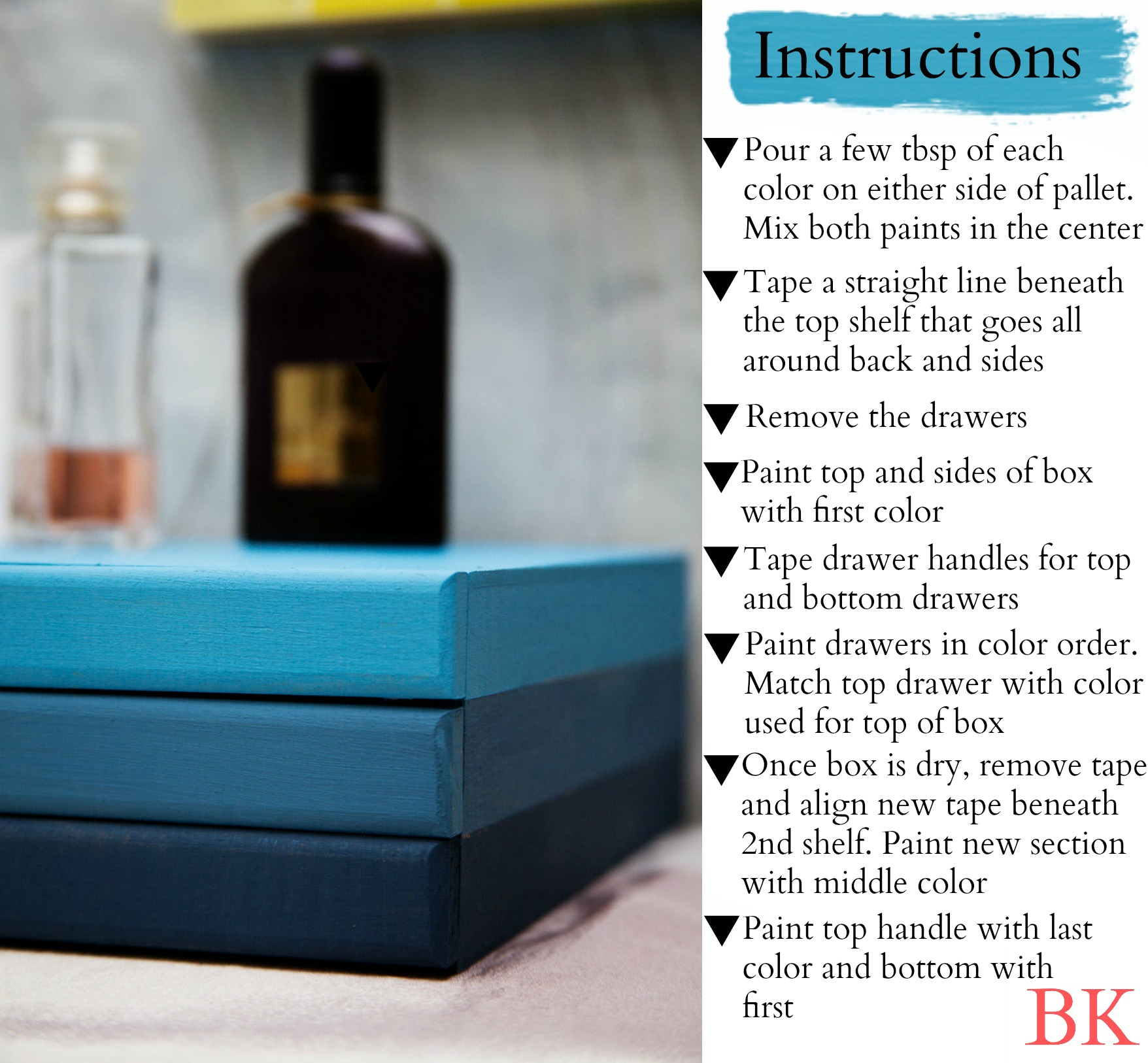 Ombré Jewelry Box DIY – Born In The Know.