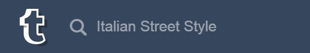 Tumblr Search: Italian Street Style